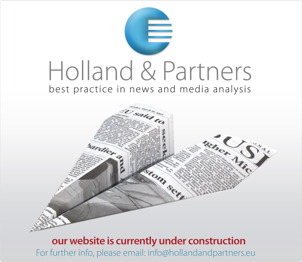 Holland & Partners - best practice in news and media analysis